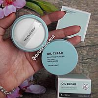 Матирующая рассыпчатая пудра для лица The Face Shop Oil Clear Blotting Powder