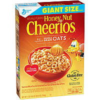 Сухой завтрак с медом, Honey Nut Cheerios,754г, фото 1