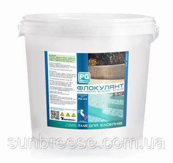 PG-44 Флокулянт для песочных фильтров blufloc (5 кг) таблетки