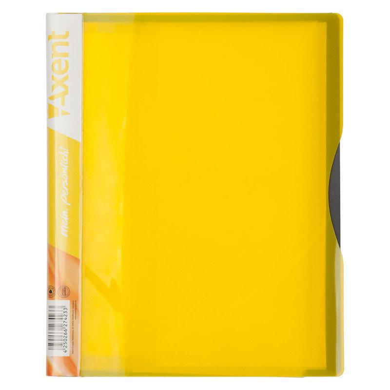 Дисплей-книга 20 файлов A5, желтая