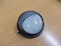 Светильник НПП1307 черный/круг ресница 60Вт, фото 1