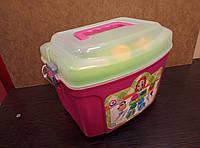 Набор детской посуды с плитой