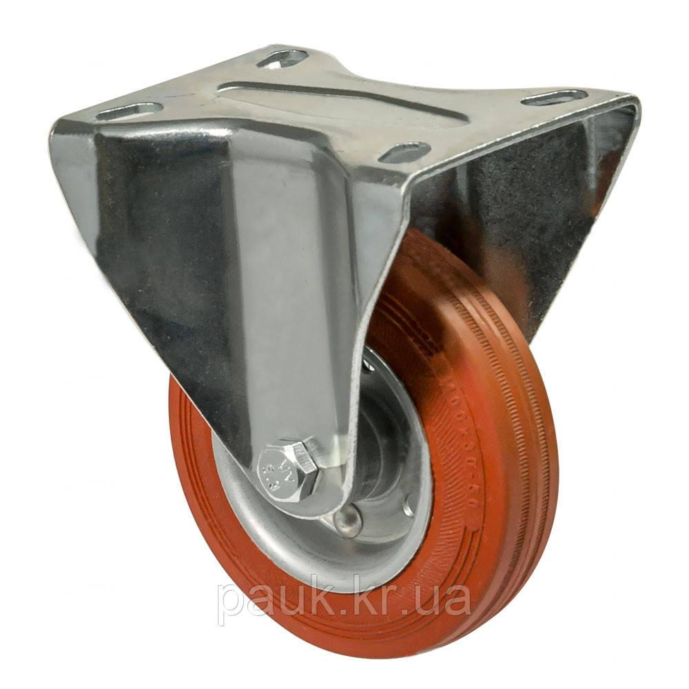 """Колесо 4207-NT-160-В(42 """"Norma Term"""") Ø 160мм, неповоротное с крепежной панелью"""