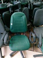 Кресло менеджера зелёное кож зам