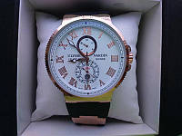 Часы Ulysse Nardin Maxy Marine White(реплика)