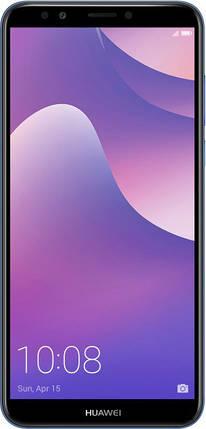 Смартфон Huawei Y7 Prime 2018 3/32Gb Blue Гарантия 12 месяцев, фото 2