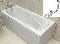 Ванна акрилова KOLLER POOL DELFI 180x80 + сифон