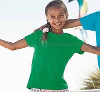 Детская футболка для девочек 100% хлопка
