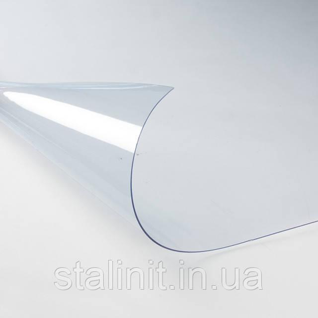 Прозрачный ПВХ d=0.3 mm, фото 1