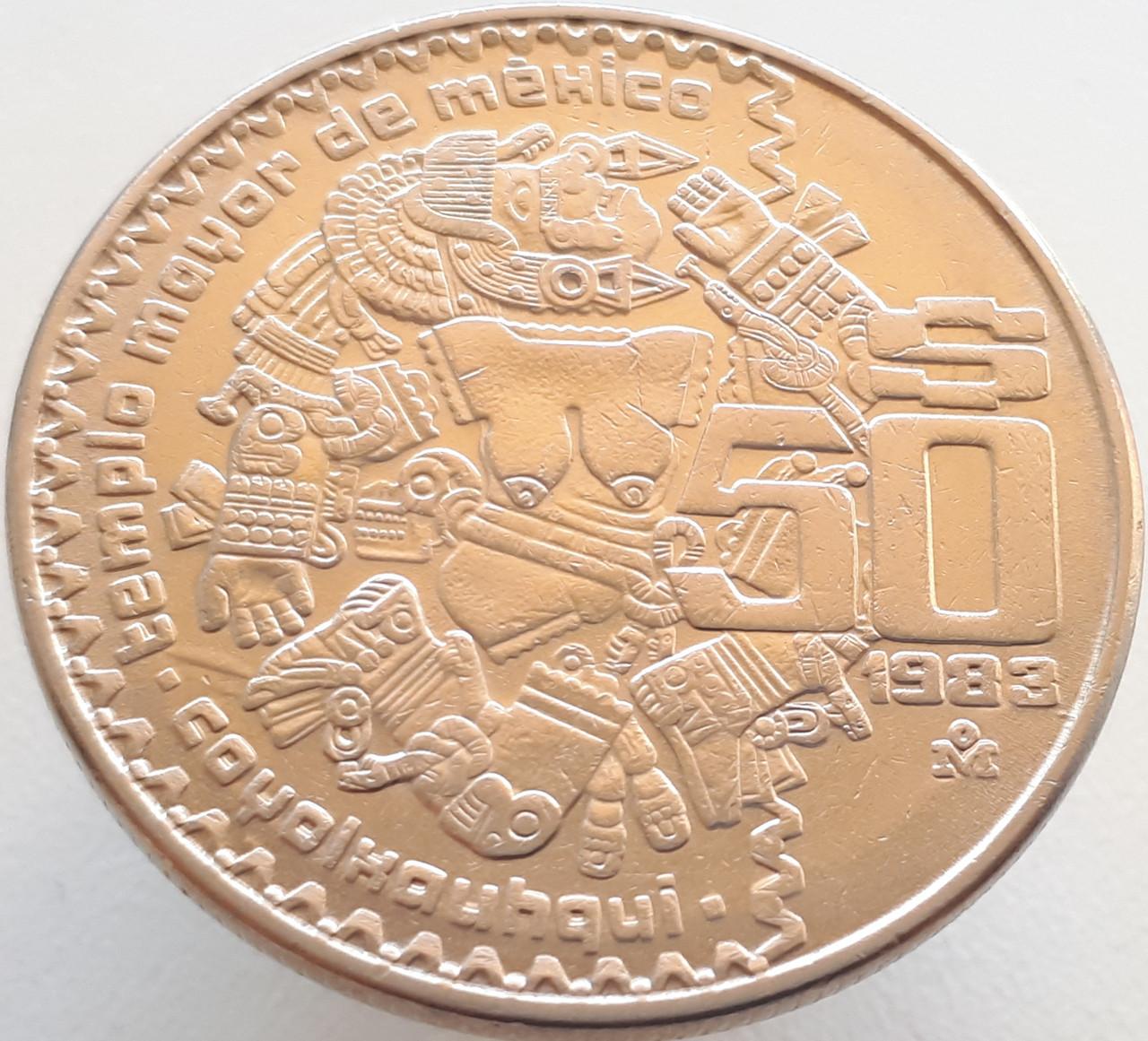 Мексика 50 песо 1983