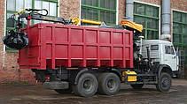 Автомобиль-металловоз (ломовоз) на базе шасси автомобиля КАМАЗ, фото 3