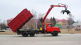 Металловоз (ломовоз) на базе шасси автомобиля КРАЗ