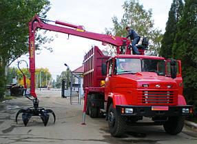 Металловоз (ломовоз) на базе шасси автомобиля КРАЗ, фото 2