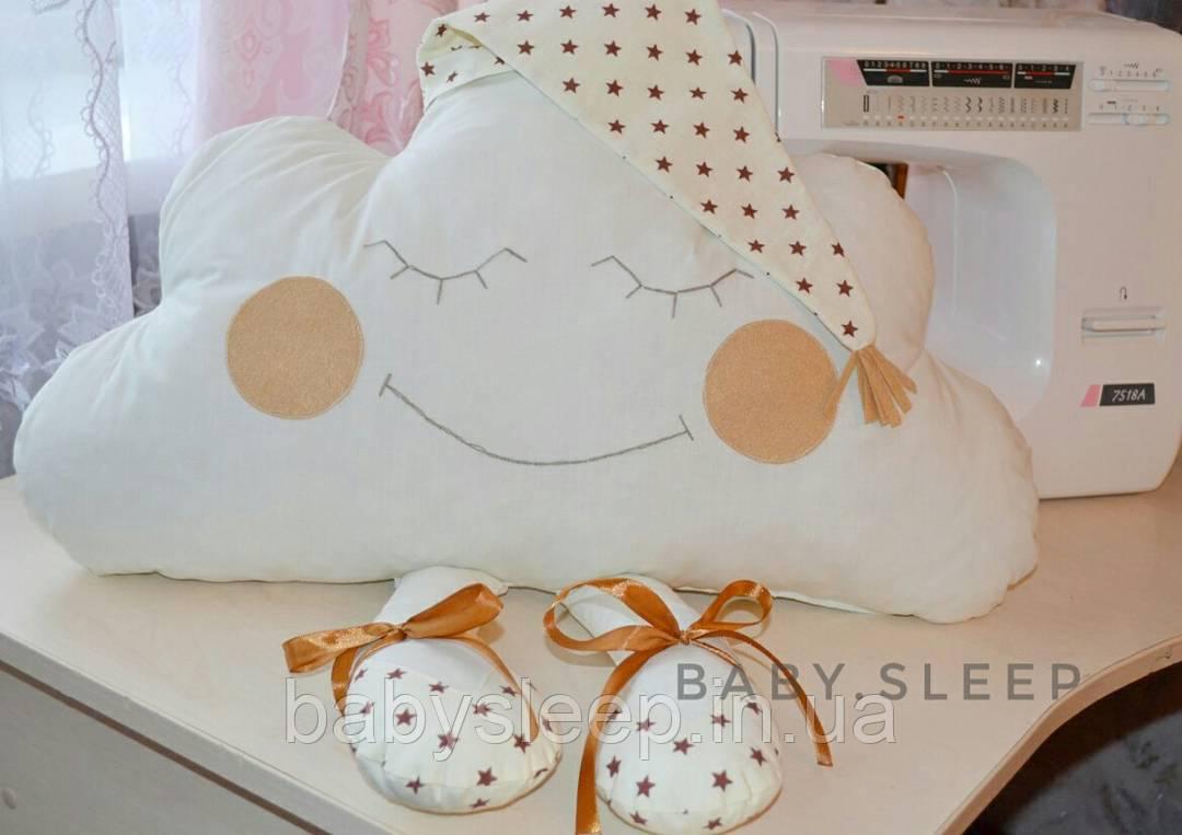 """Декоративная подушка облачко """"Baby-sleep"""""""