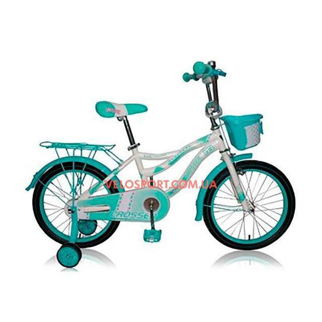 Детский велосипед Crosser Kiddy 20 дюймов бирюзовый