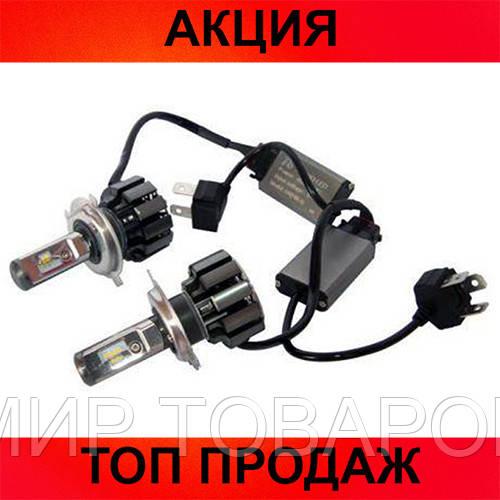 LED лампы Xenon T6-H4!Хит цена