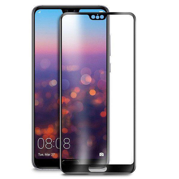 Защитное стекло 5D Glass Premium Huawei P20 Black