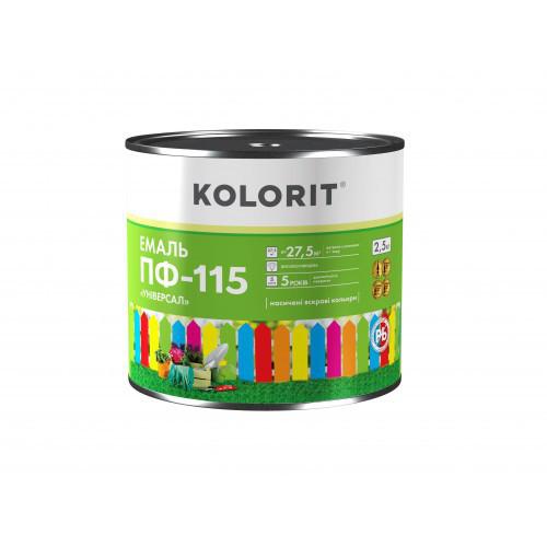 KOLORIT ЭМАЛЬ ПФ-115 УНИВЕРСАЛ 2,5кг