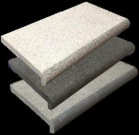Гранитный бортовой камень для бассейна