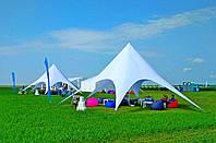Палатка Звезда, туристическая (цвет белый) - однокупольная палатка, фото 1