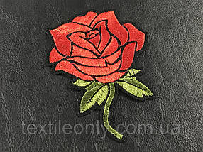 Нашивка Роза 78x100 мм