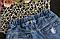 Джинсовые шорты на резинке, фото 4
