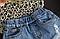 Джинсовые шорты на резинке, фото 5