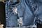 Джинсовые шорты на резинке, фото 6