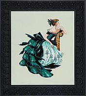 Схема Mirabilia Designs Portrait of Veronica Портрет Вероники MD147