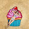 Пляжный Коврик Кекс