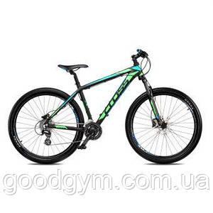 """Велосипед 27,5"""" CROSS GRX 8 рама 20"""" 2018 зелений"""