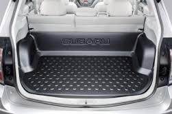 Поддон багажника глубокий аксессуар Subaru Forester S12 Оригинал 08-12 (J515ESC200)