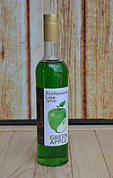 Сироп Зелёное яблоко ТМ Baristoff 0.9 кг.