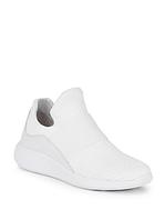 Женские  белые текстильные кроссовки Donna Karan, фото 1