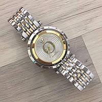 Женские наручные часы Pandora (Пандора),серебристо - золотой корпуси белый циферблат, фото 1