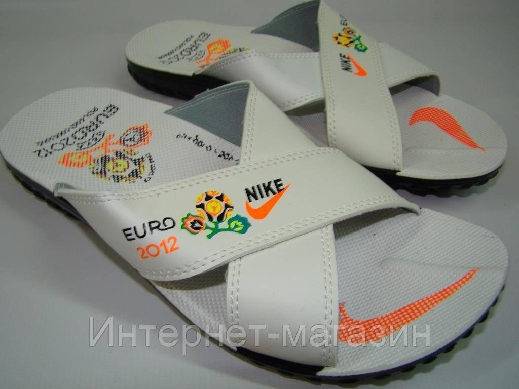 Шлепанцы мужские Nike Турция (40, 43, 44р) код 7043