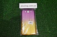 Прозрачный силиконовый чехол для Samsung J510