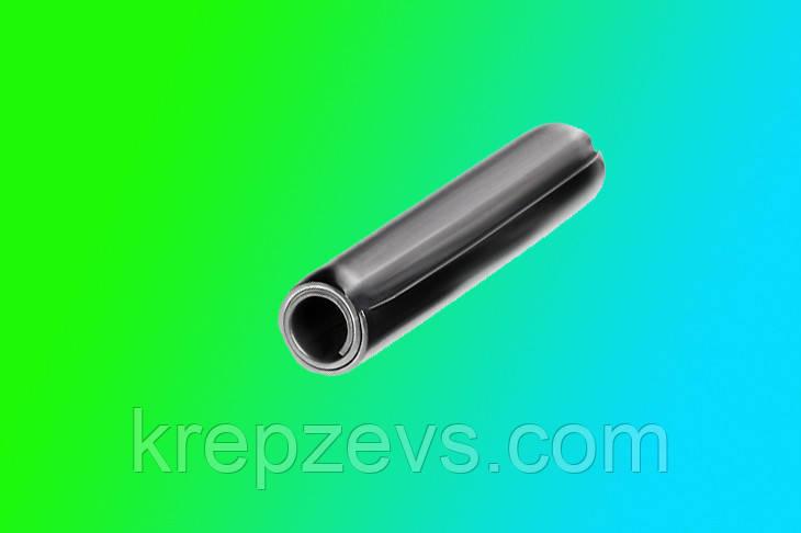 Штифт 5 мм пружинный цилиндрической формы DIN 7343, ISO 8750