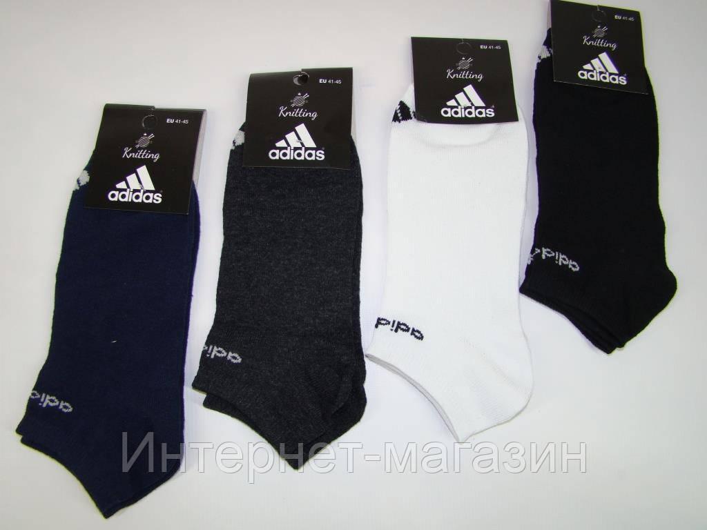 Носки мужские Adidas хлопок (41-45р) код 13075