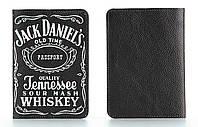 Кожаная обложка на паспорт StVeles Jack Daniels (156-155339)