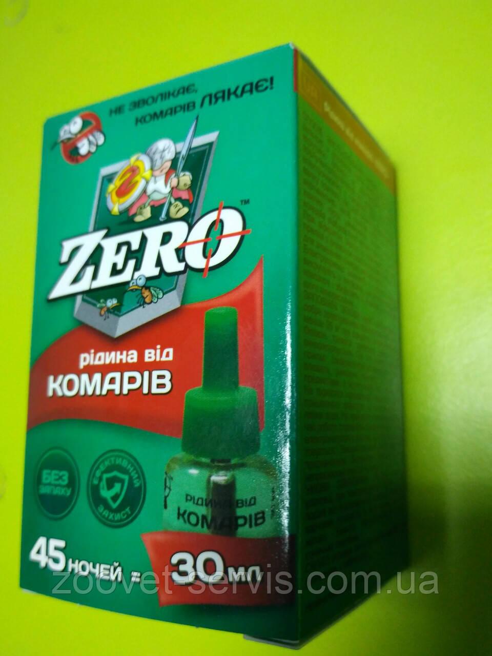 Жидкость для защиты от комаров на 45 ночей ZERO (Беларусь)