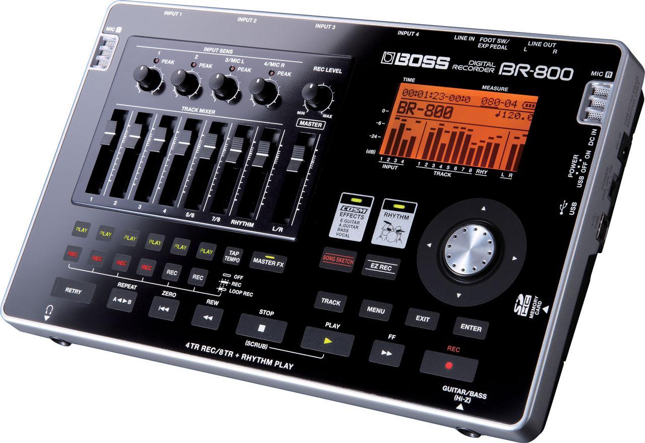 Усилители звука BOSS BR800