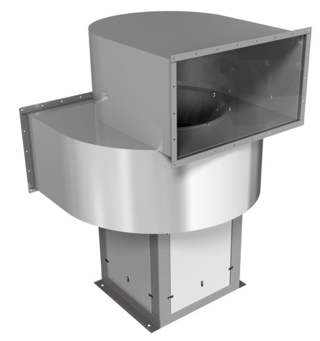 Вентилятор радиальный Веза ВНР6-045-ДУ600-Н-00055/4-У1-2-0