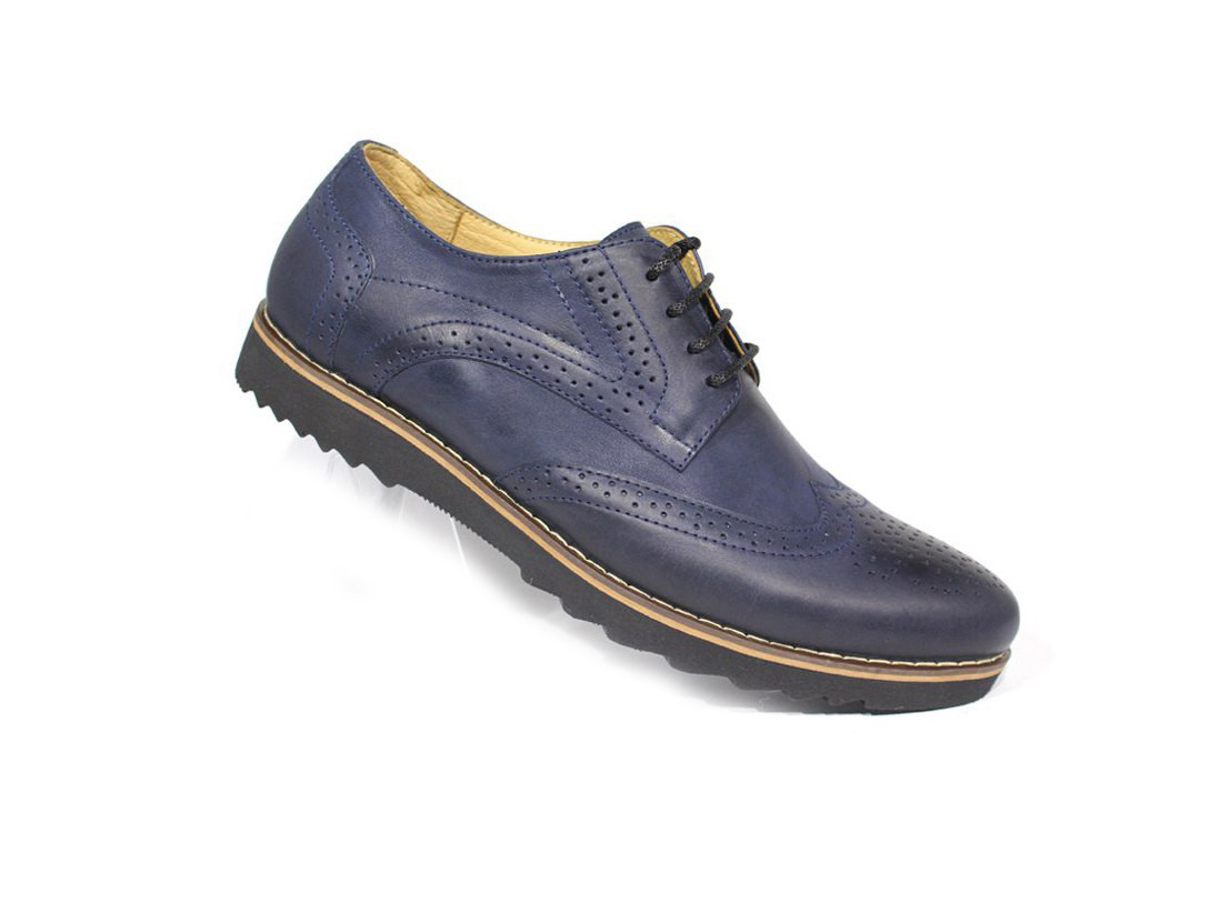 Чоловічі туфлі Rondo синього кольору стильні і зручні для повсякденного використання! Стильные и удобные туфли
