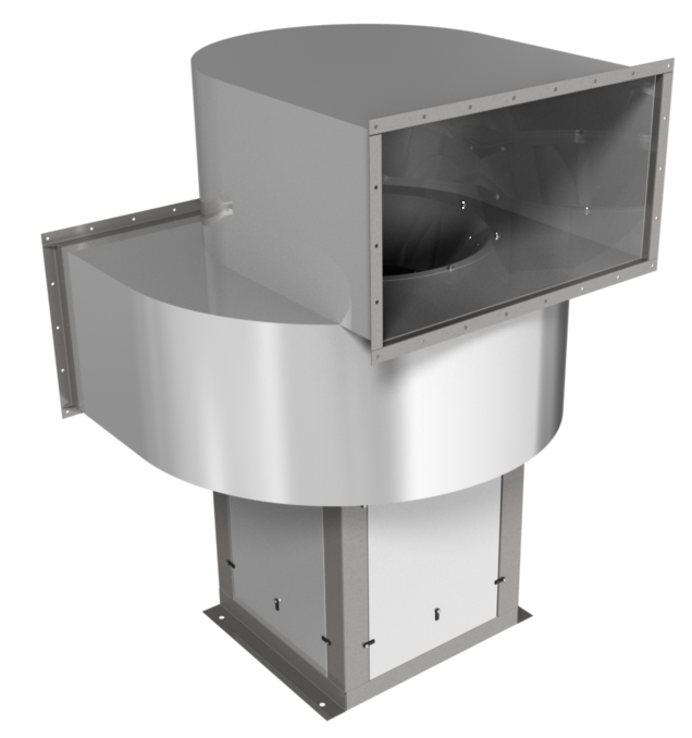 Вентилятор радиальный Веза ВНР6-090-ДУ600-Н-00550/6-У1-4-0