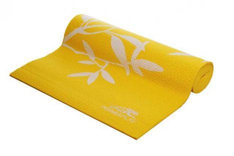 Мат для йоги 173*61*0,4 см PowerPlay / 4011 / желтый