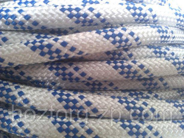 """Шнур(верёвка) статичная """"Альпіка"""" ф10мм(классА)РН=2680 кг"""