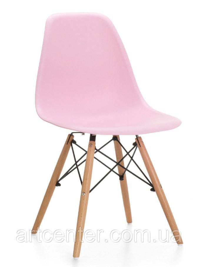 Стул для офиса, стул пластиковый для посетителей, стул для кафе (стул Тауэр Вуд лиловый)