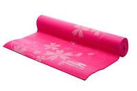 Мат для йоги 173*61*0,4 см PowerPlay / 4011 / розовый, фото 1