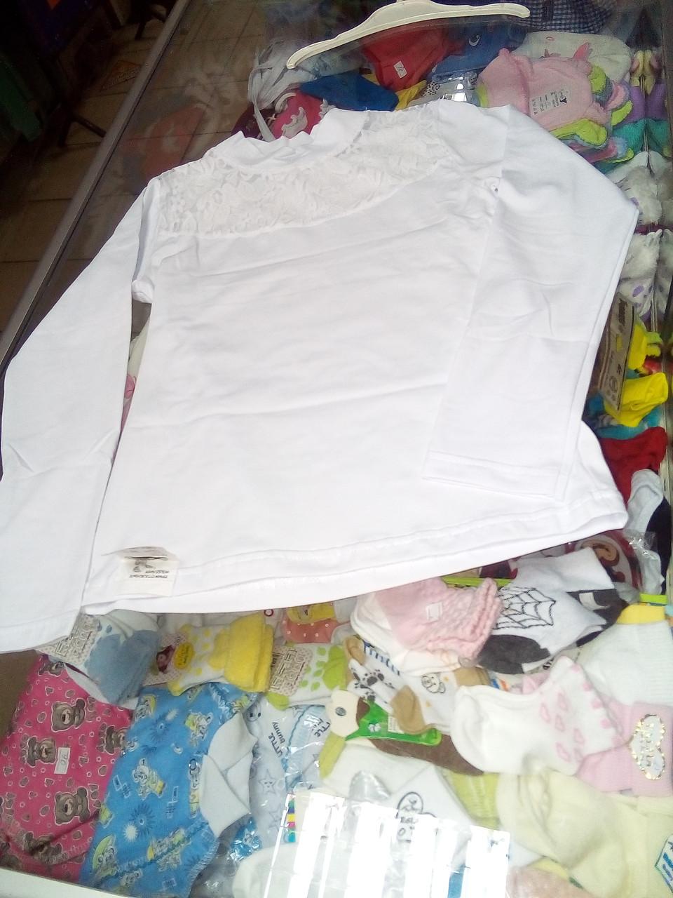Блуза Гольф детская для девочки Школа р.110 - 152